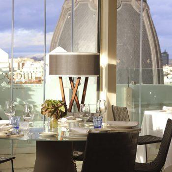 Terraza restaurante 8ª planta - Picalagartos