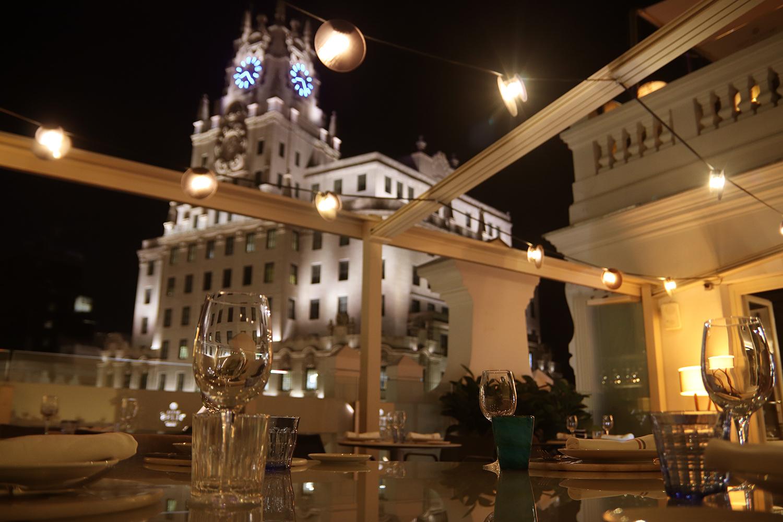 Reserva tu mesa frente a las mejores vistas de la capital